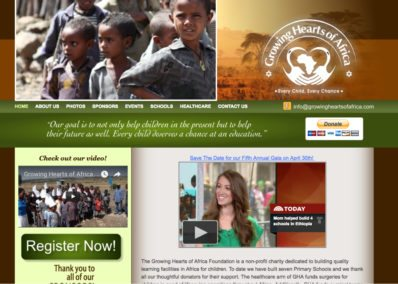 growing hearts charity website