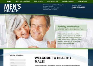 mens health website