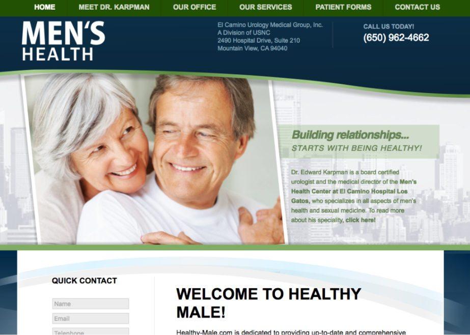 mens health website