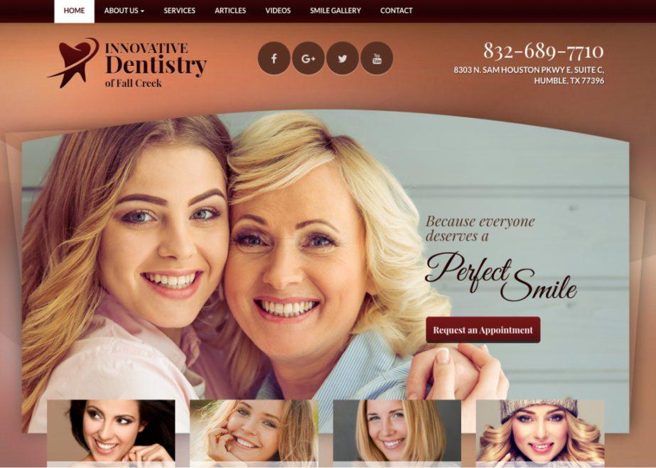 Innovative dentistry of fall creek website