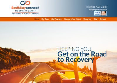 southbay connect treatment center website