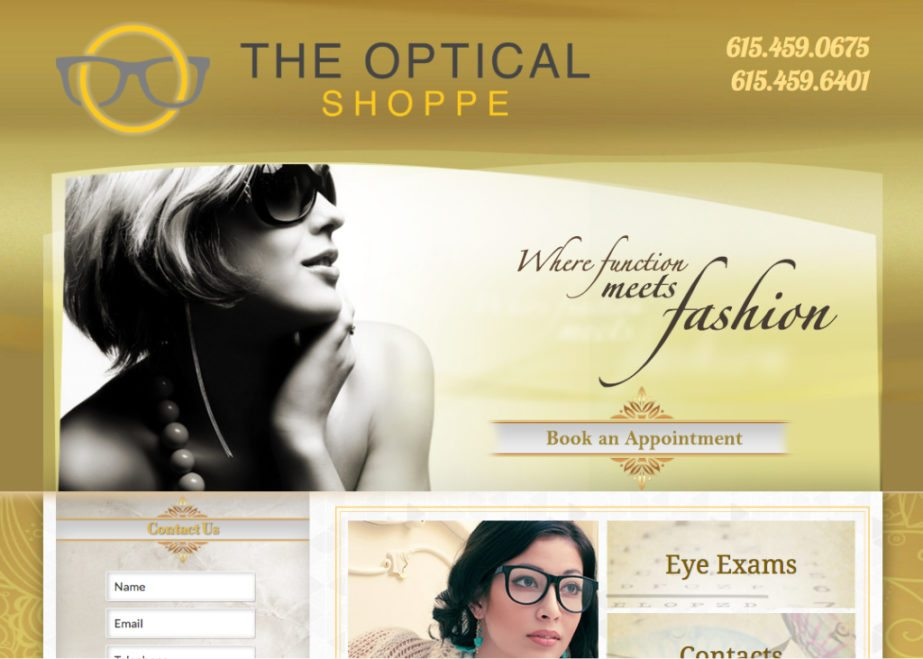 optical shop website