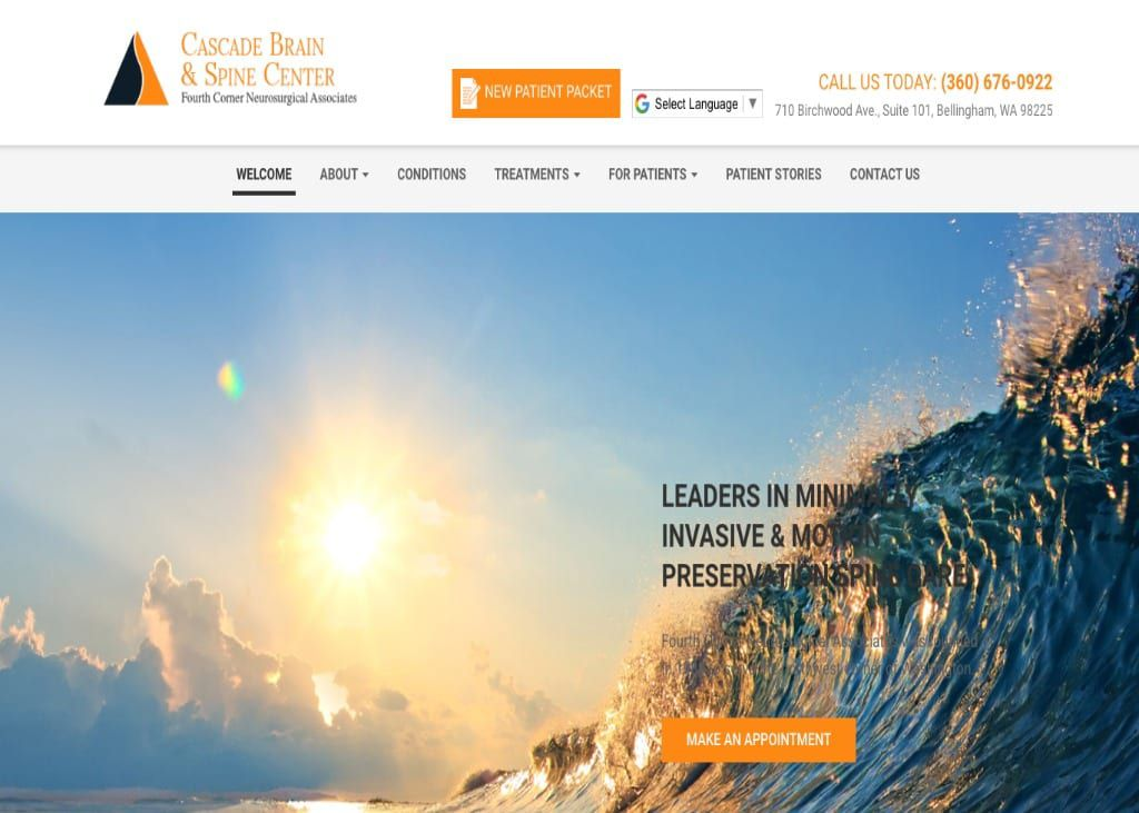 Fourth-Corner-Nuerosurgical-Associates-Website-Screenshot