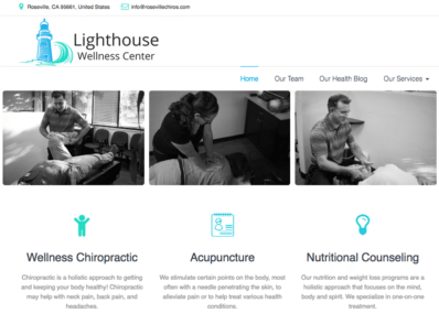 Holistic Healthcare website designed by optimized 360