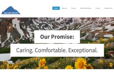 San Juan Urology Website Image