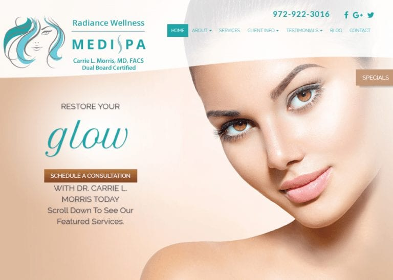 RADIANCE WELLNESS MEDI SPA