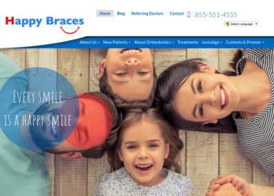 Childrens Happy Teeth Website