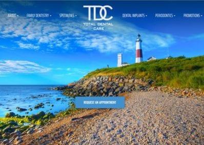 Glo Dental Website Screenshot