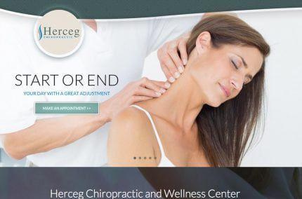 Herceg Chiropractic Website