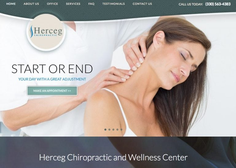 Herceg Chiropractic Website