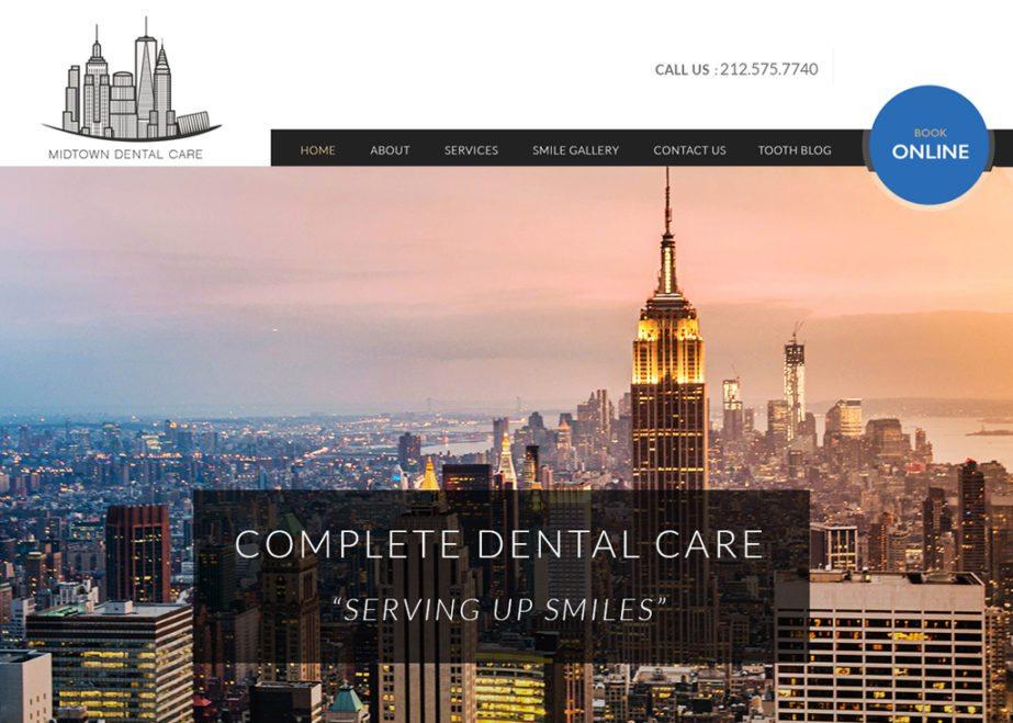 Midtown Dental Website