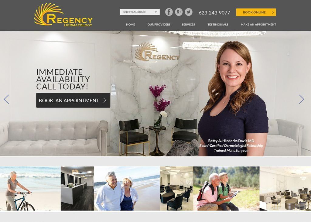 Regency Dermatology website