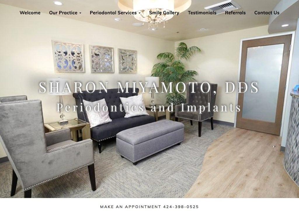 Sharon Miyamoto DDS Website