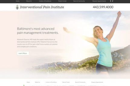 Interventional Pain Institute Website