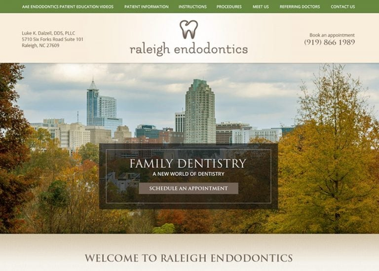 Raleigh Endodontics Website