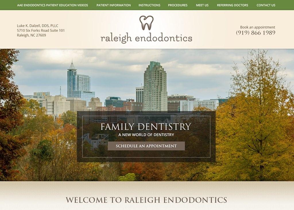 Raleigh Endodontics Website