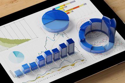 3d dental marketing metrics displayed on top of an ipad