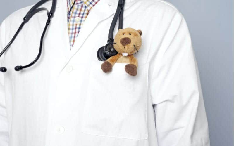 pediatrician with a cute stethoscope