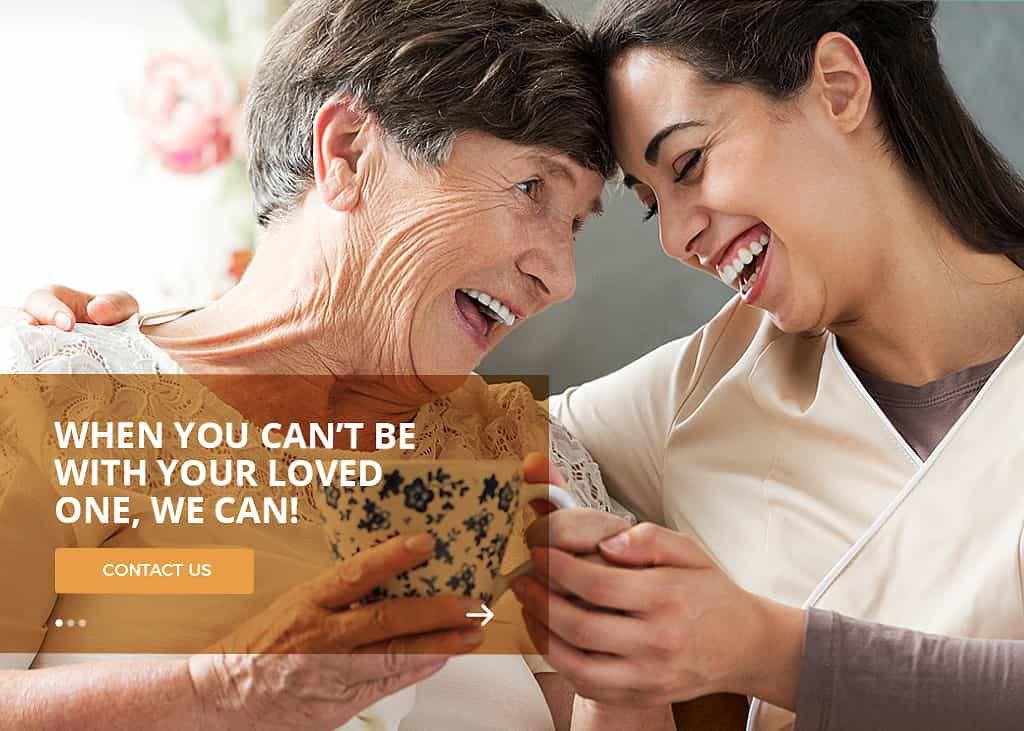 Niile Home Care Website Screenshot