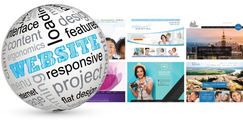 Feature rich website designs for medical and dental practices