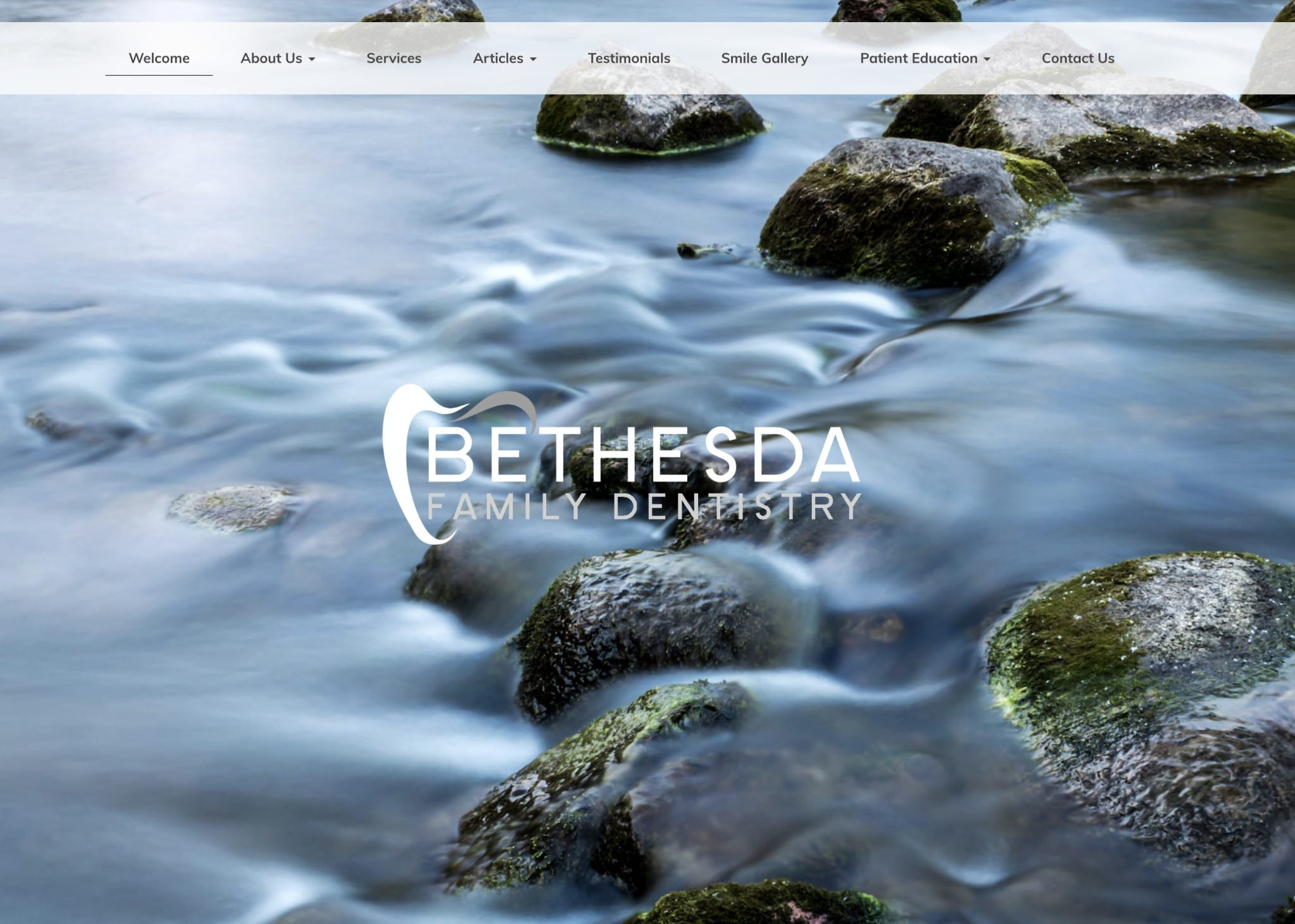 bethesta dental website