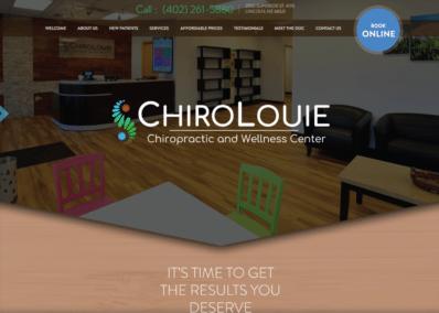 Chiro Louie website