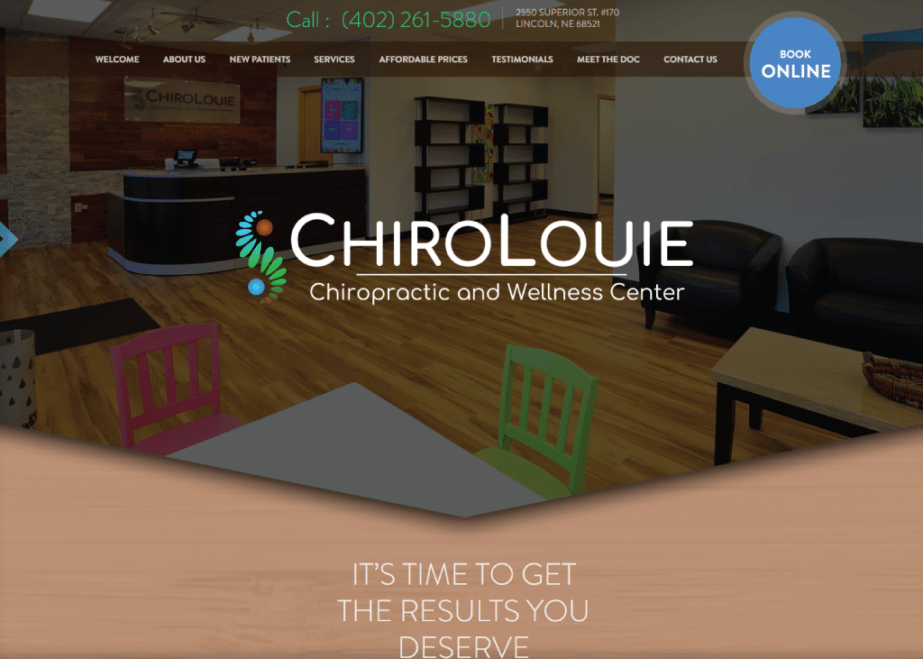 Chiro Louie website