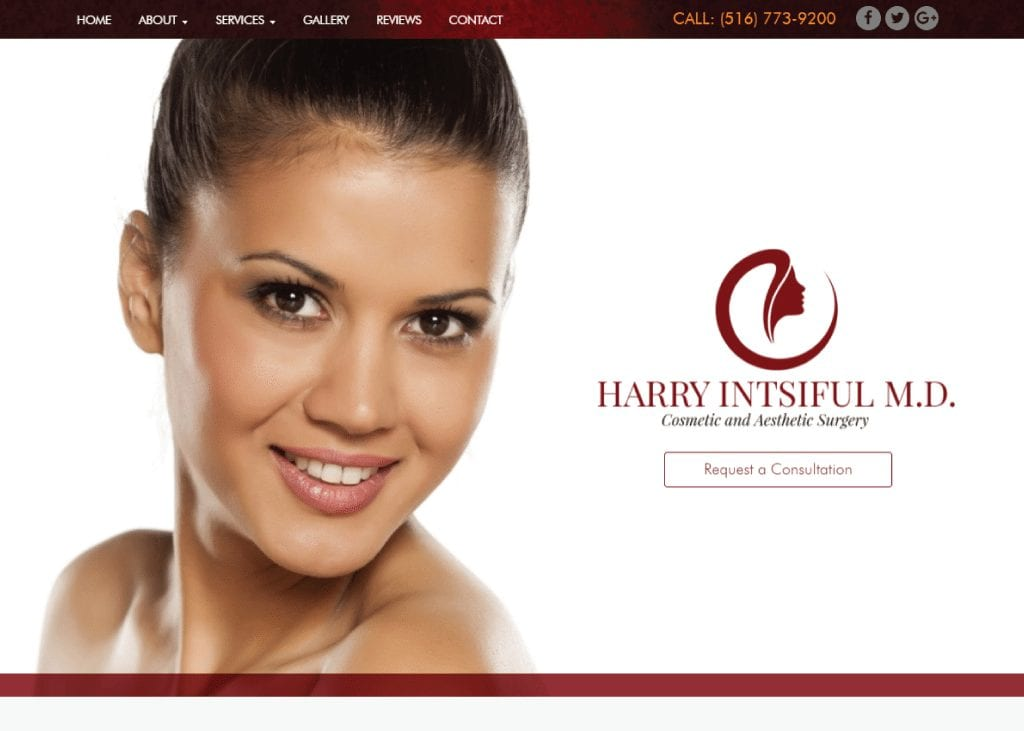 Harry Intsiful, MD website