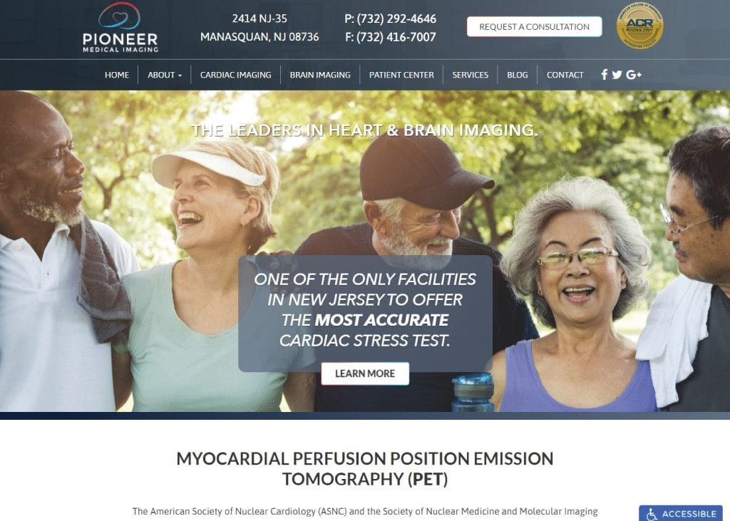 Pioneer Medical Imaging Website