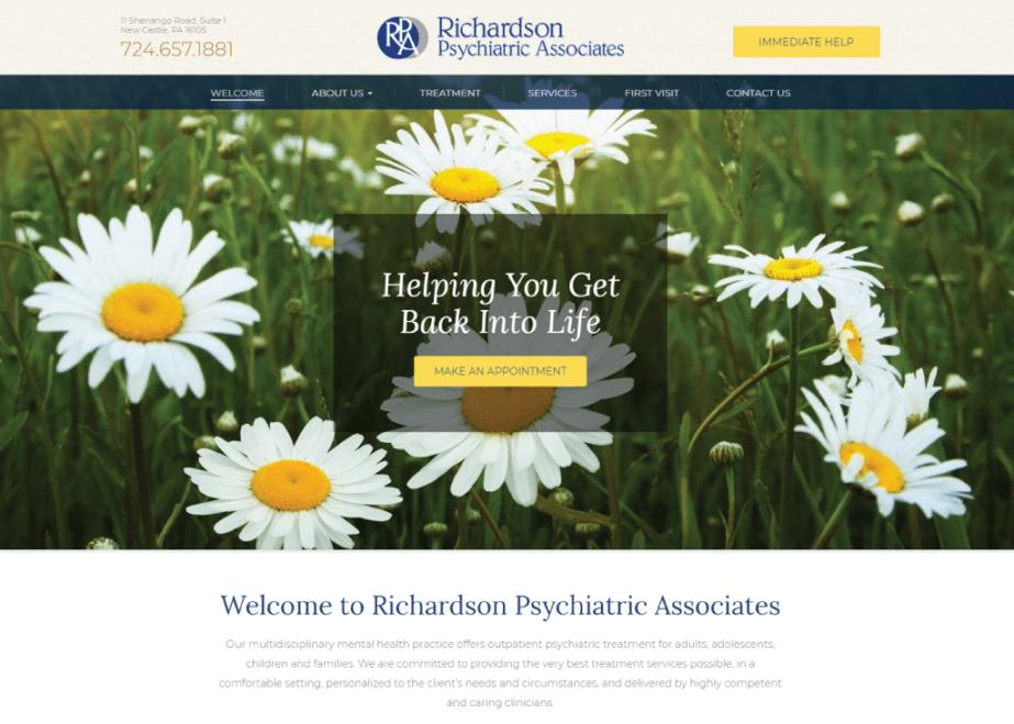 Richardson Psychiatric Associates website