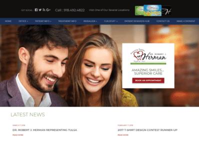 Dr. Robert J. Herman dental website