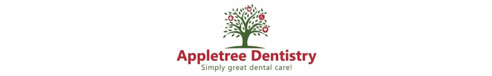 apple tree dentistry logo example