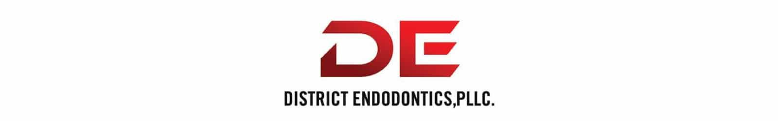 district endodontics logo design example