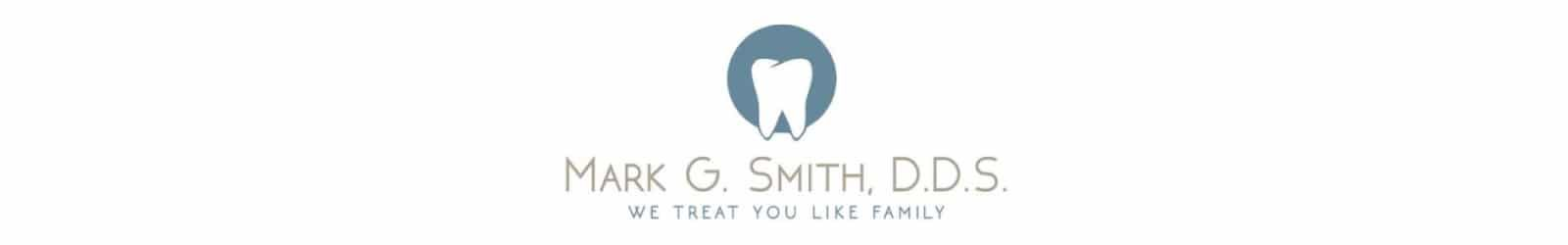 Marc Smith DDS logo design exmaple