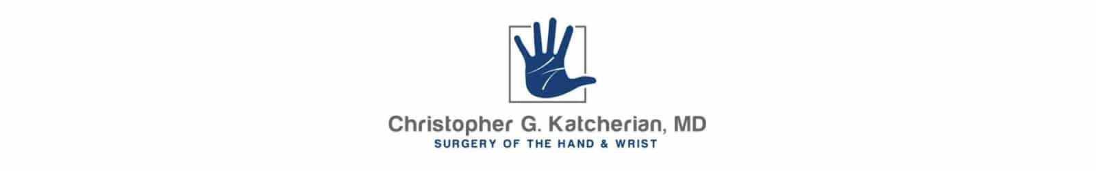 Christopher Kalcherian MD logo designed by O360