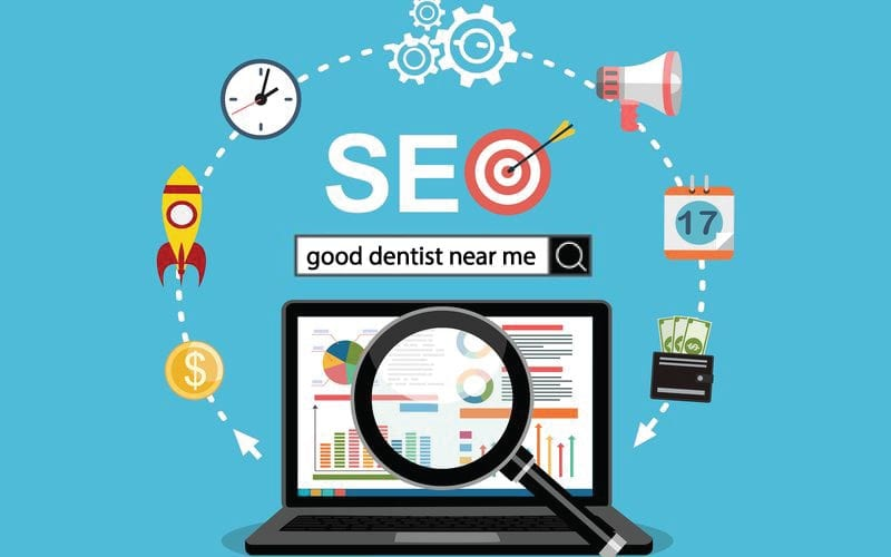 SEO for dental practices, get new patients