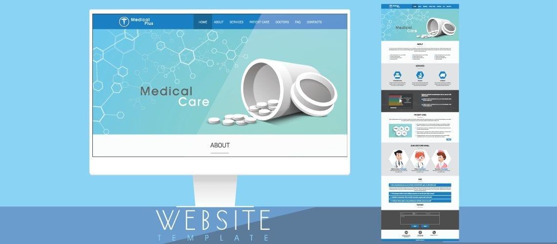 some medical websites use prebuilt templates
