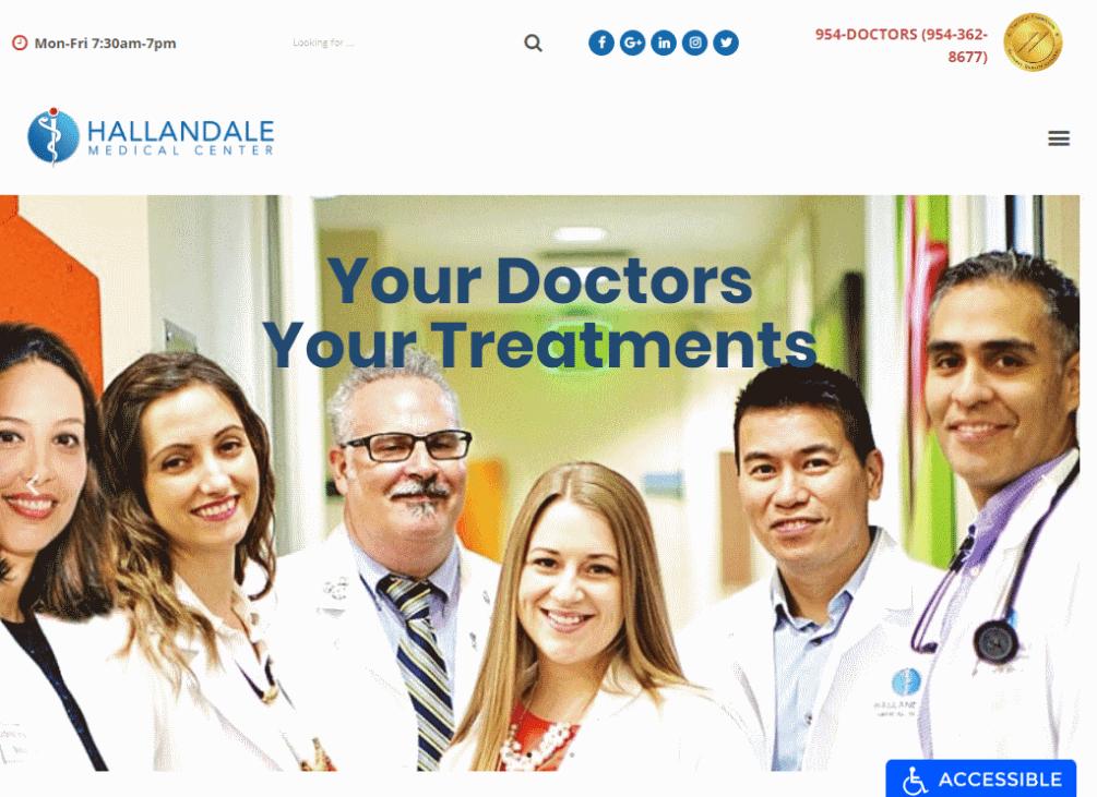 https://hallandalemedicalcenter.com/, General Practice Mental Health in Hallandale, FL