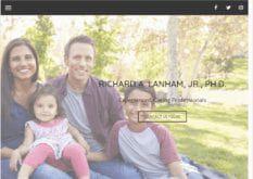 lanhamneuro.com - Showing the homepage of Lanham Neuro Psychology website