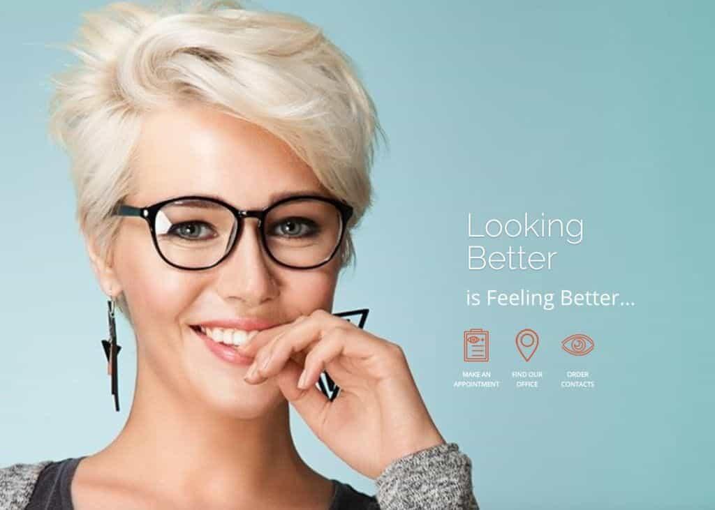 Shelbourne Optometry Website Screenshot