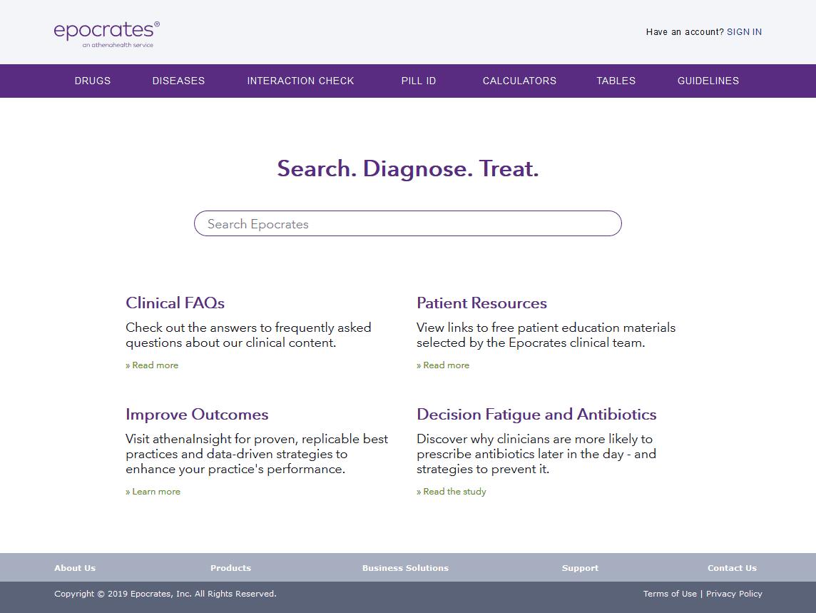 online.epocrates.com