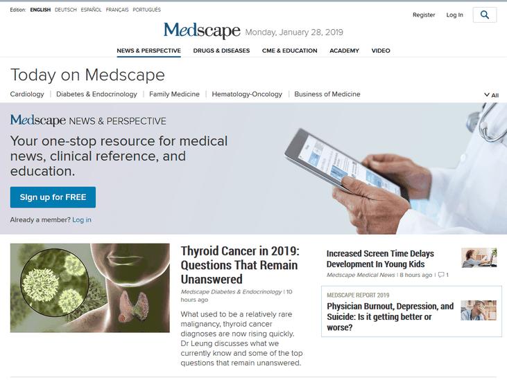 Top 10 Medical Websites for Doctors Top 10 Medical Websites
