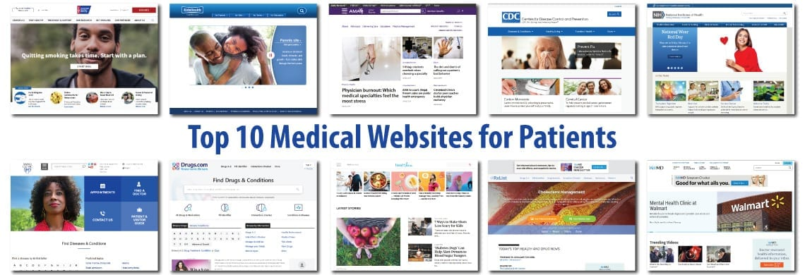 Top 10 Medical Websites for Patients