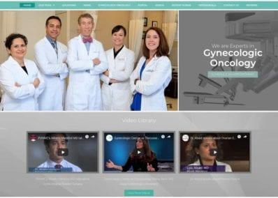 Gynecology Group Website Screenshot