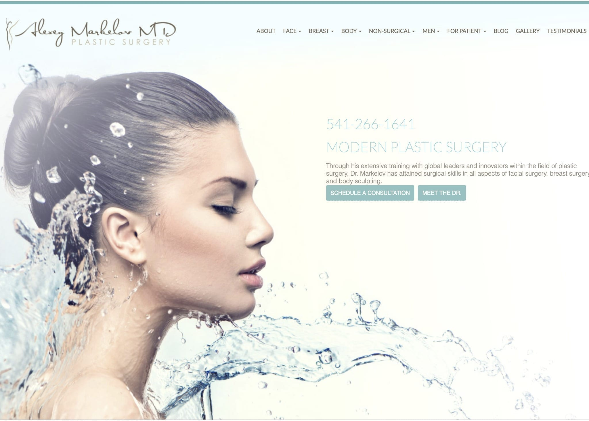 plastic surgery madlin website