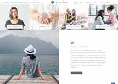 Bloom Sooner Website Screenshot