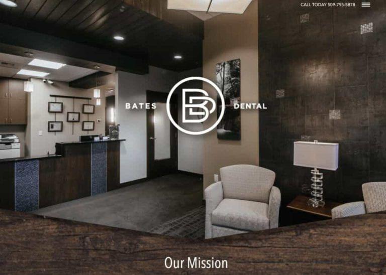 Bates Dental Website Image
