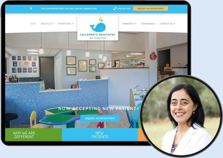 Dr. Niloo - Oakton Smiles Website