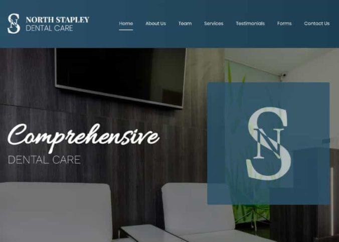 Beta Dental Care Website Screenshot