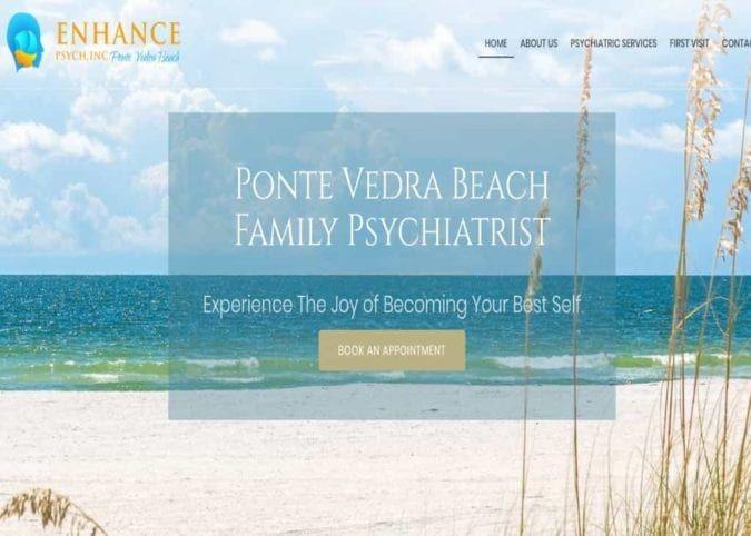 Enhance Psych Website Screenshot